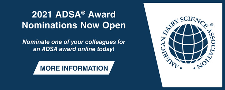 2021 ADSA Award Nominations Now Open