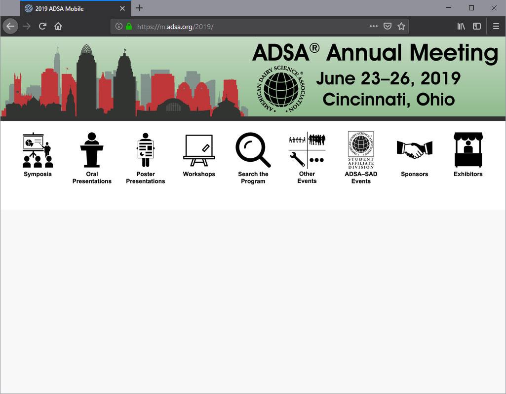 American Dairy Science Association > Meetings > 2019 Annual